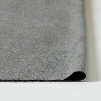 ポリエステル&コットン×無地(グレー×ブラック)×ビエラ・リバーシブル_全4色 サムネイル3