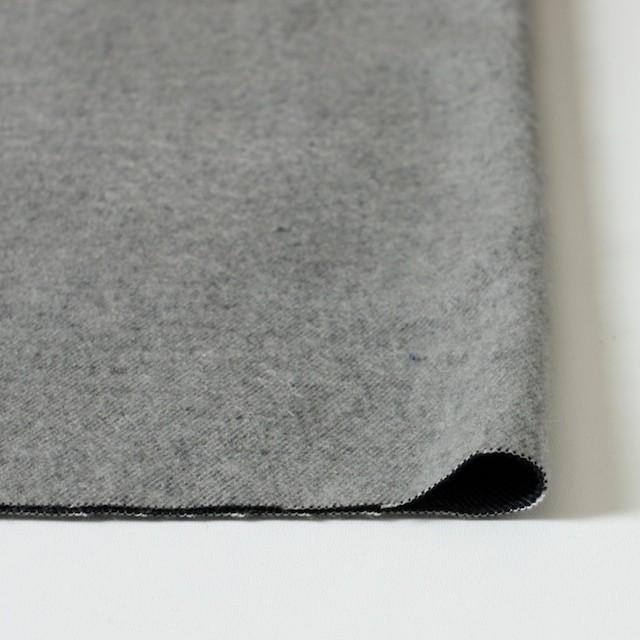 ポリエステル&コットン×無地(グレー×ブラック)×ビエラ・リバーシブル_全4色 イメージ3