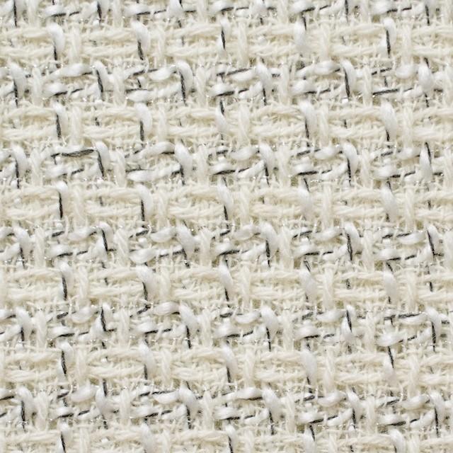 ウール&アクリル混×ミックス(オフホワイト)×杢ツイード_全2色 イメージ1