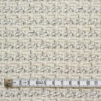 ウール&アクリル混×ミックス(オフホワイト)×杢ツイード_全2色 サムネイル4
