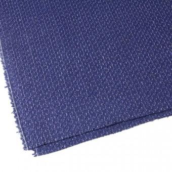 ウール&アクリル混×ミックス(ブルー)×杢ツイード_全2色 サムネイル2