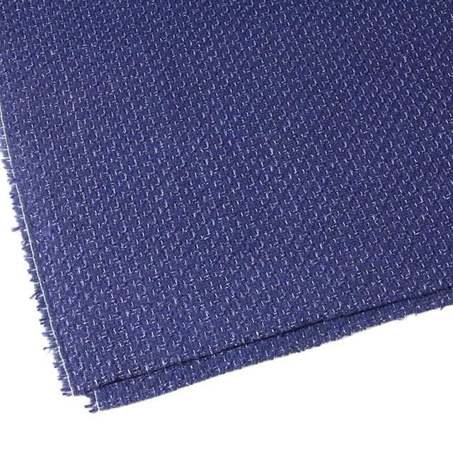 ウール&アクリル混×ミックス(ブルー)×杢ツイード_全2色 イメージ2