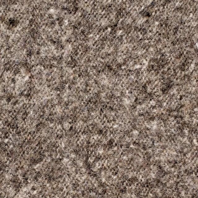 ウール&ポリエステル×無地(ブラウン)×ツイードワッシャー_全2色 イメージ1