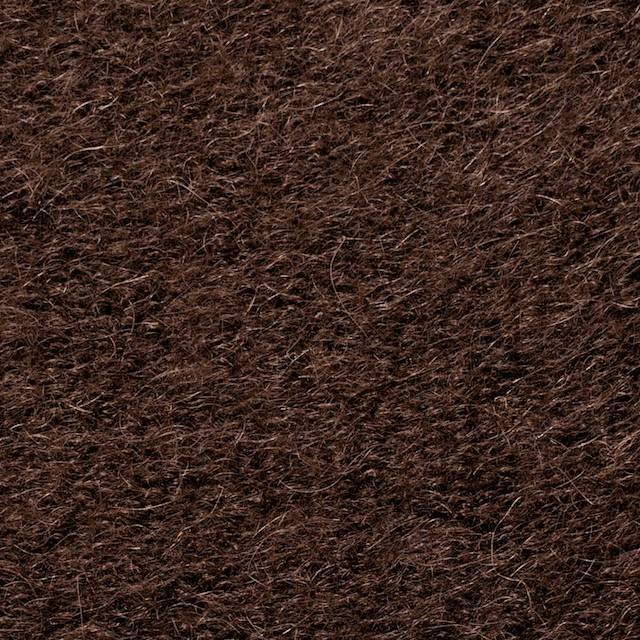 ナイロン&ウール×無地(ブラウン)×シャギーニット_全2色_イタリア製 イメージ1