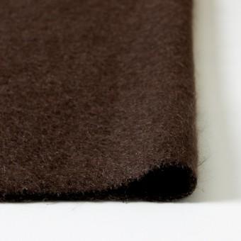 ナイロン&ウール×無地(ブラウン)×シャギーニット_全2色_イタリア製 サムネイル3