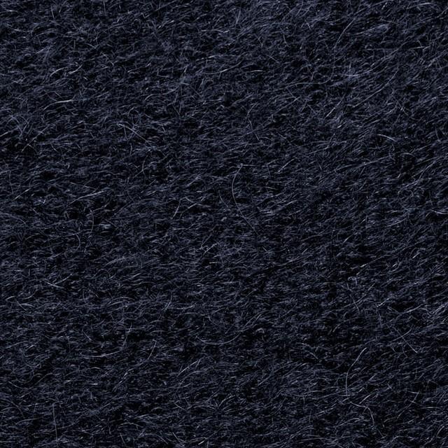 ナイロン&ウール×無地(ネイビー)×シャギーニット_全2色_イタリア製 イメージ1