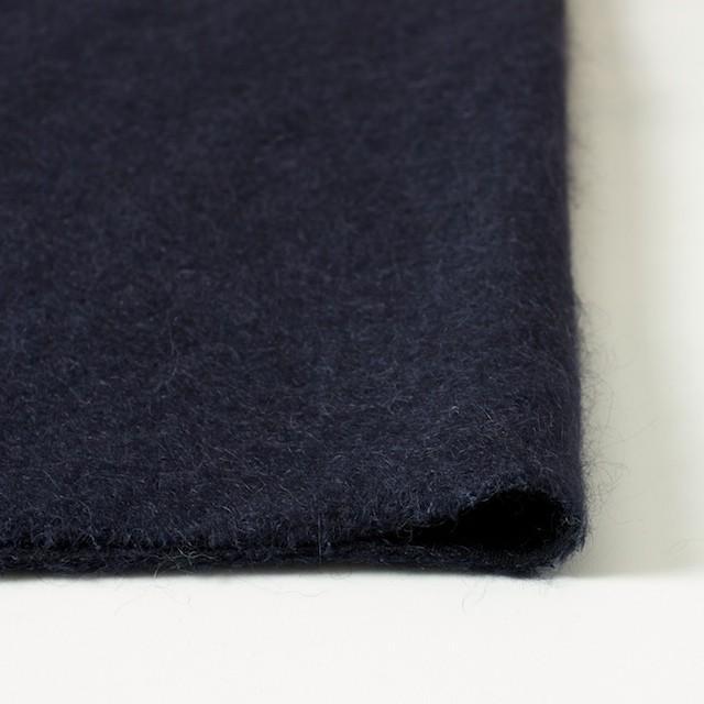 ナイロン&ウール×無地(ネイビー)×シャギーニット_全2色_イタリア製 イメージ3