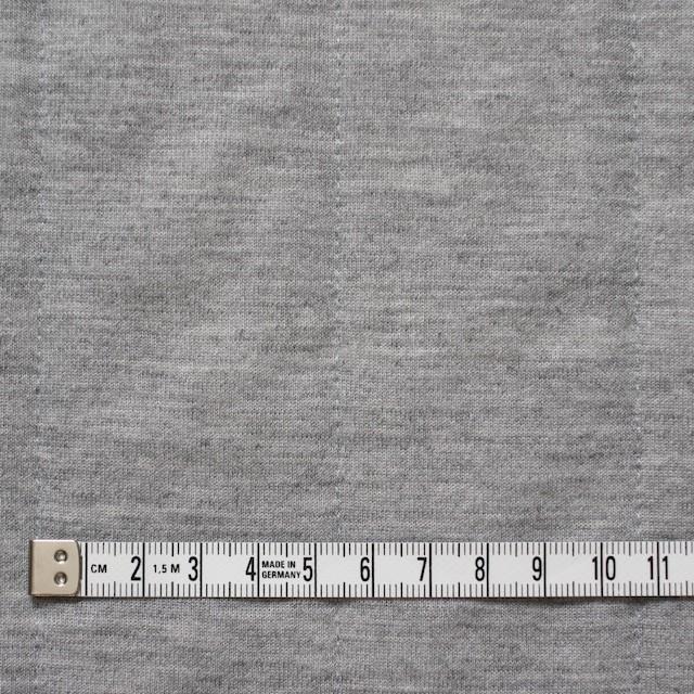 ポリエステル&レーヨン×無地(グレー)×ニットキルティング_全3色 イメージ4