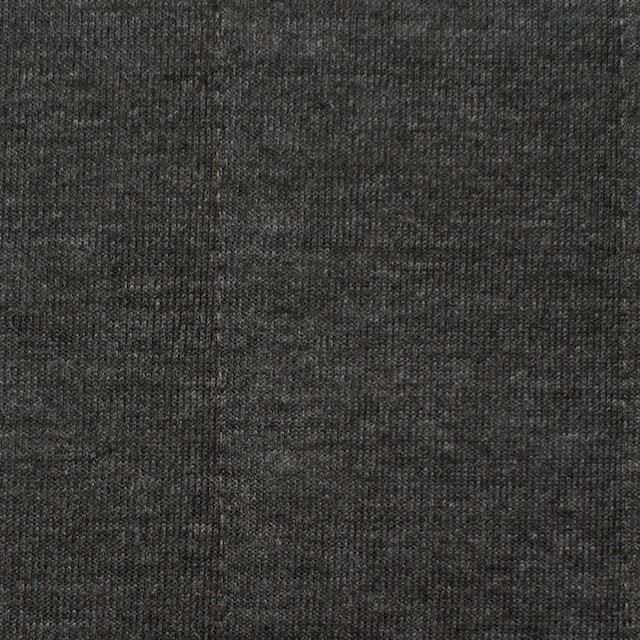 ポリエステル&レーヨン×無地(チャコールグレー)×ニットキルティング_全3色 イメージ1