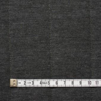 ポリエステル&レーヨン×無地(チャコールグレー)×ニットキルティング_全3色 サムネイル4