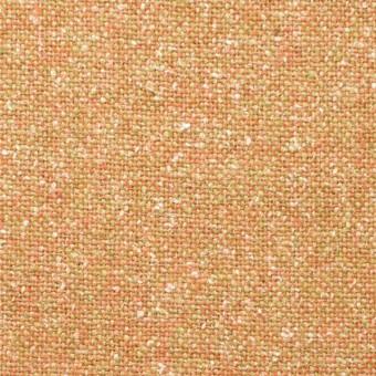 ウール&シルク混×オレンジミックス×ツイード_全2色 サムネイル1