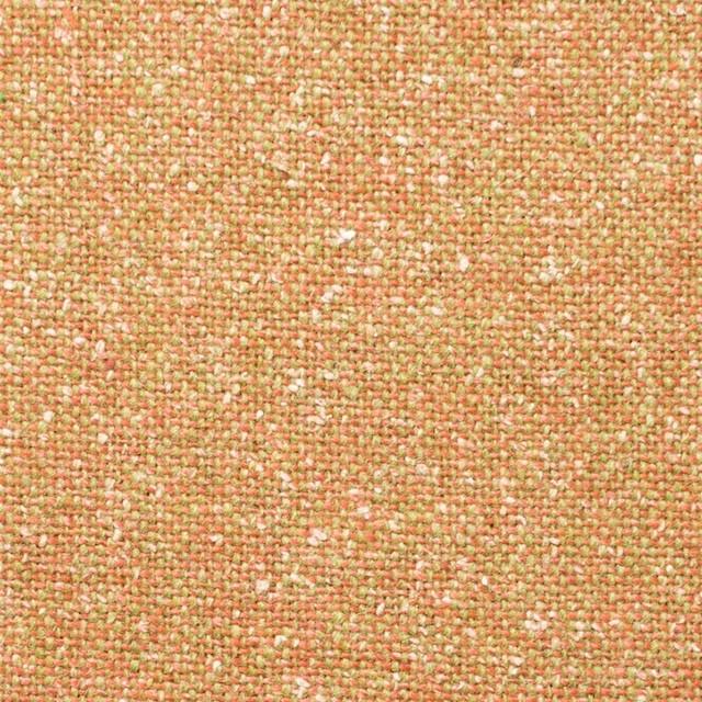 ウール&シルク混×オレンジミックス×ツイード_全2色 イメージ1