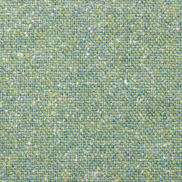 ウール&シルク混×グリーンミックス×ツイード_全2色 イメージ1