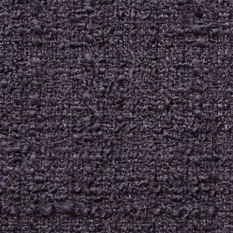 ウール&ポリアミド混×無地(ダークパープル)×ファンシーツイード_全2色_イタリア製 サムネイル1