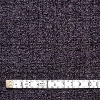 ウール&ポリアミド混×無地(ダークパープル)×ファンシーツイード_全2色_イタリア製 サムネイル4