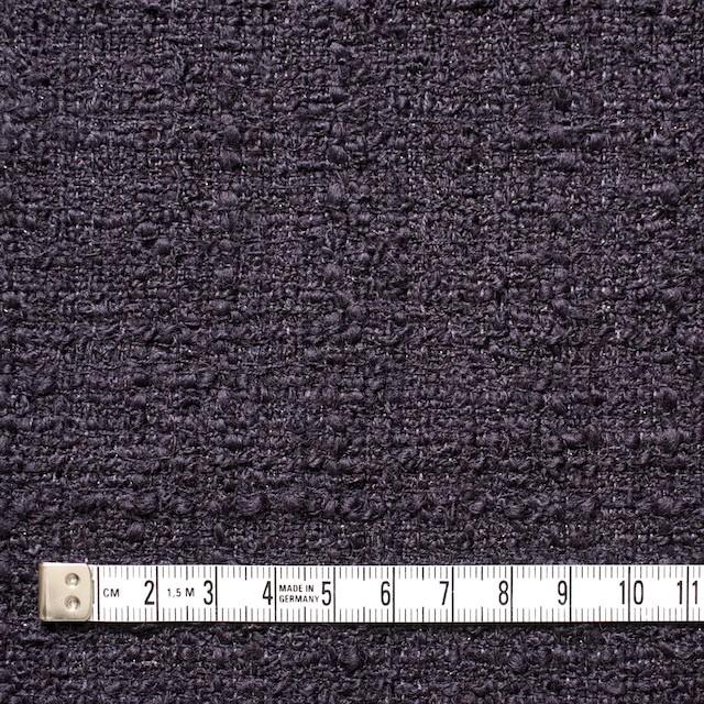 ウール&ポリアミド混×無地(ダークパープル)×ファンシーツイード_全2色_イタリア製 イメージ4