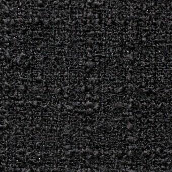ウール&ポリアミド混×無地(ブラック)×ファンシーツイード_全2色_イタリア製 サムネイル1