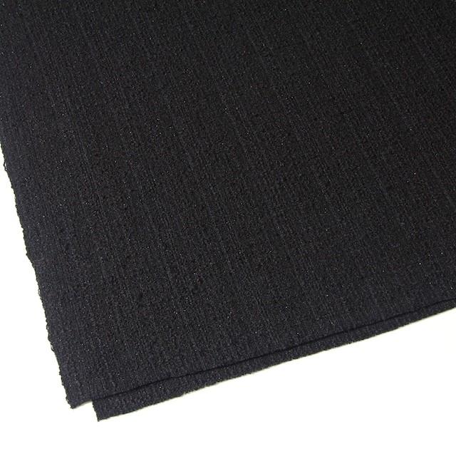 ウール&ポリアミド混×無地(ブラック)×ファンシーツイード_全2色_イタリア製 イメージ2