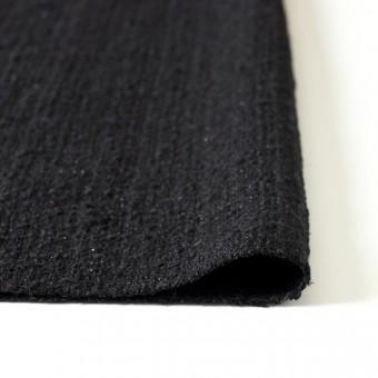 ウール&ポリアミド混×無地(ブラック)×ファンシーツイード_全2色_イタリア製 サムネイル3