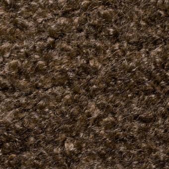 ウールモヘア×無地(ブラウン)×アストラカン二重織_全2色 サムネイル1