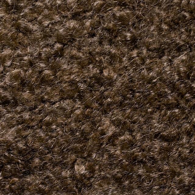 ウールモヘア×無地(ブラウン)×アストラカン二重織_全2色 イメージ1