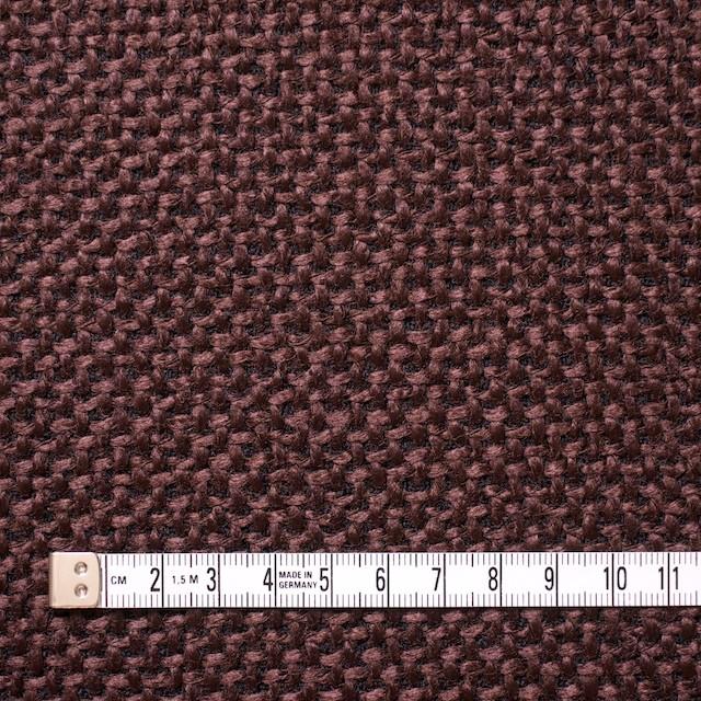 ウール×無地(ココア)×二重織_イタリア製 イメージ4