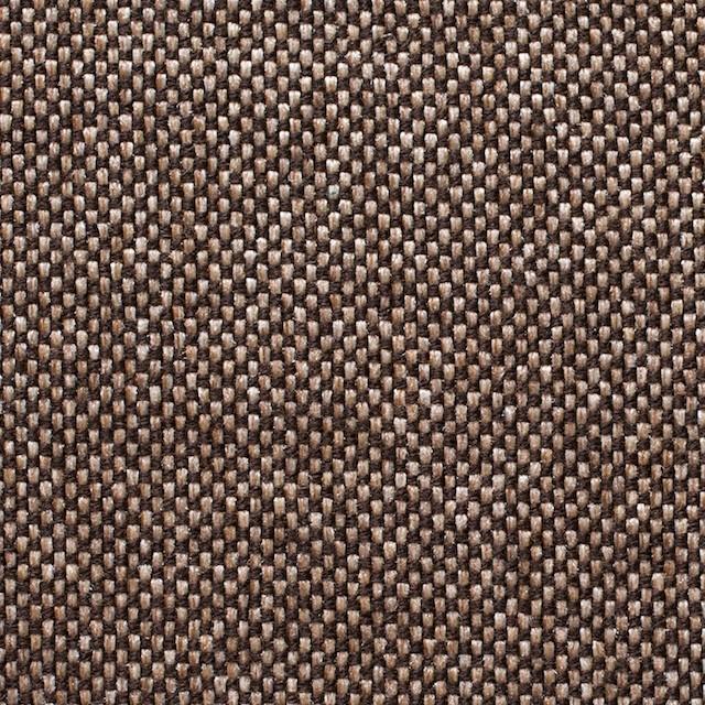 ウール&ポリエステル×ダークブラウンミックス×かわり織 イメージ1
