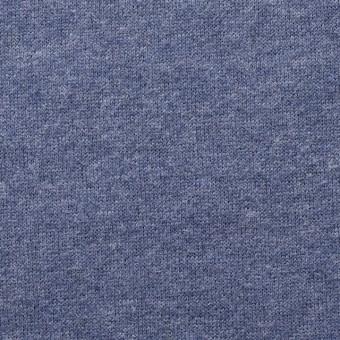 コットン×無地(ウインターブルー)×裏毛ニット_全2色 サムネイル1