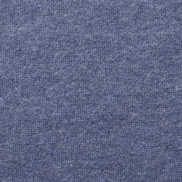 コットン×無地(ウインターブルー)×裏毛ニット_全2色 イメージ1