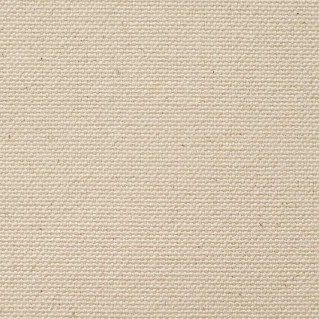 コットン×無地(生成)×6号帆布 イメージ1