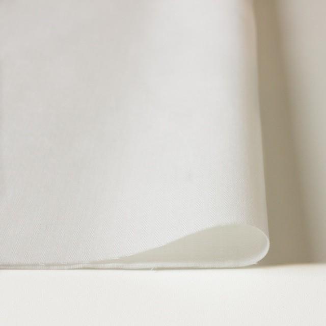 コットン×無地(オフホワイト)×ヘリンボーン_全2色 イメージ3