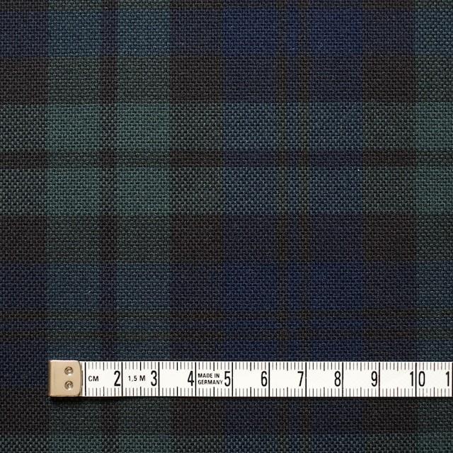 コットン×チェック(ブラックウォッチ)×キャンバス イメージ4