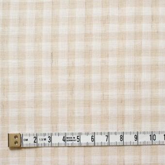 コットン&リネン×ギンガムチェック(生成)×薄シーチング_全2色 サムネイル4