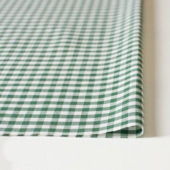 コットン&リネン×ギンガムチェック(グリーン)×薄シーチング_全2色 サムネイル3