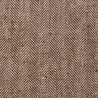コットン×無地(レンガ)×ヘリンボーン_全2色 サムネイル1