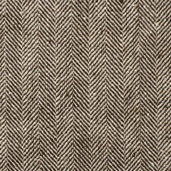 コットン×無地(ダークブラウン)×ヘリンボーン_全2色 サムネイル1