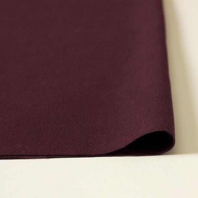 コットン×無地(ダークパープル)×起毛オックスフォード_全3色 イメージ3
