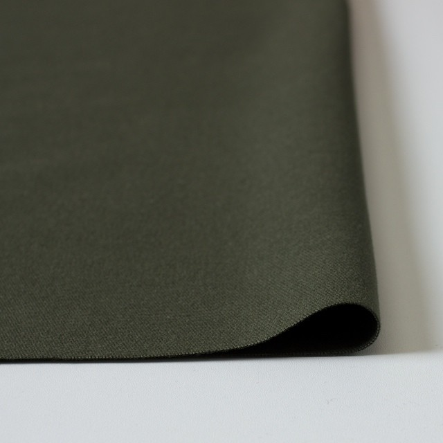 コットン×無地(カーキグリーン)×起毛オックスフォード_全3色 イメージ3