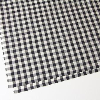 コットン×ギンガムチェック(ブラック)×ヘリンボーン_全2色 サムネイル2