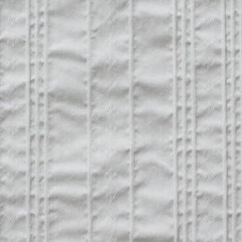 コットン&ナイロン混×ストライプ(ライトグレー)×ピンタックジャガード_全2色 サムネイル1