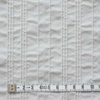 コットン&ナイロン混×ストライプ(ライトグレー)×ピンタックジャガード_全2色 サムネイル4