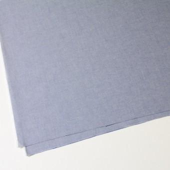 コットン×無地(ブルー)×オックスフォード・シャンブレー サムネイル2
