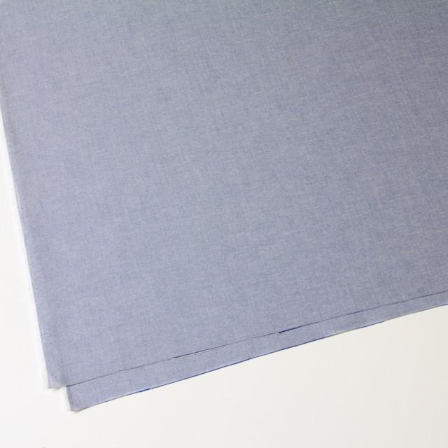 コットン×無地(ブルー)×オックスフォード・シャンブレー イメージ2