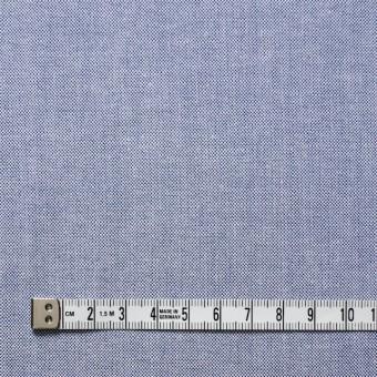 コットン×無地(ブルー)×オックスフォード・シャンブレー サムネイル4