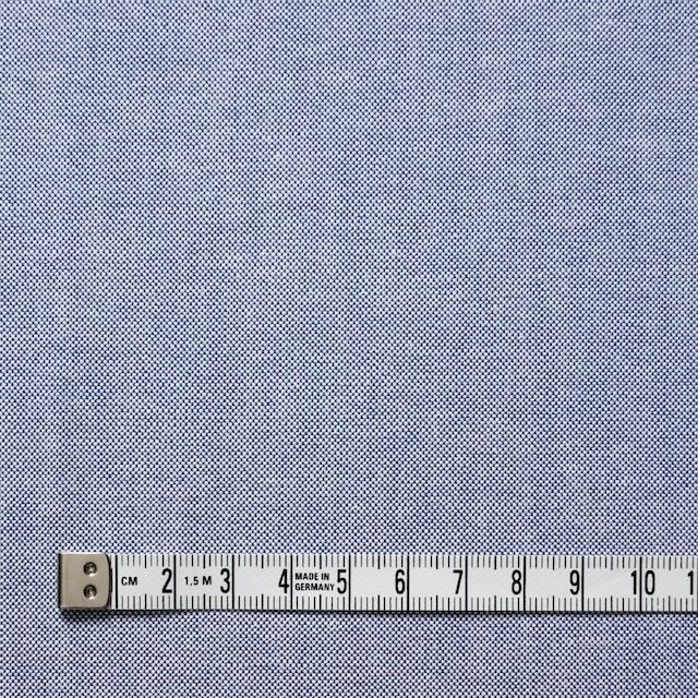 コットン×無地(ブルー)×オックスフォード・シャンブレー イメージ4