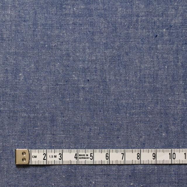 コットン×無地(ブルー)×ダンガリー イメージ4