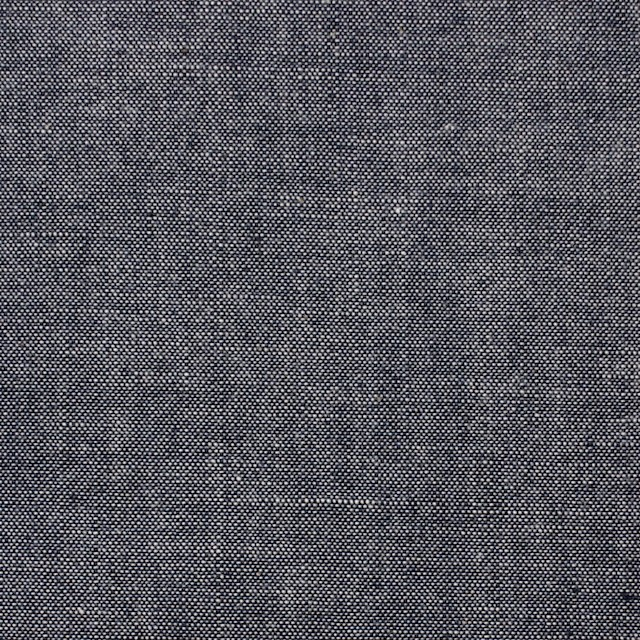 コットン×無地(ダークネイビー)×ダンガリー イメージ1
