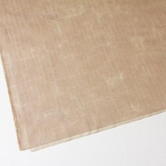コットン&リネン混×パラフィンプリント(ベージュピンク)×ヘリンボーンストレッチ サムネイル2