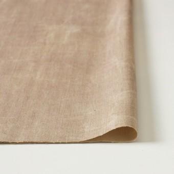 コットン&リネン混×パラフィンプリント(ベージュピンク)×ヘリンボーンストレッチ サムネイル3