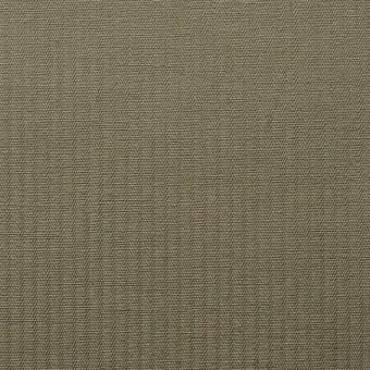 コットン&リネン×無地(カーキ)×ギャバジンストライプ_全2色 サムネイル1